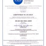 certyfikat-iso-vivax-2015